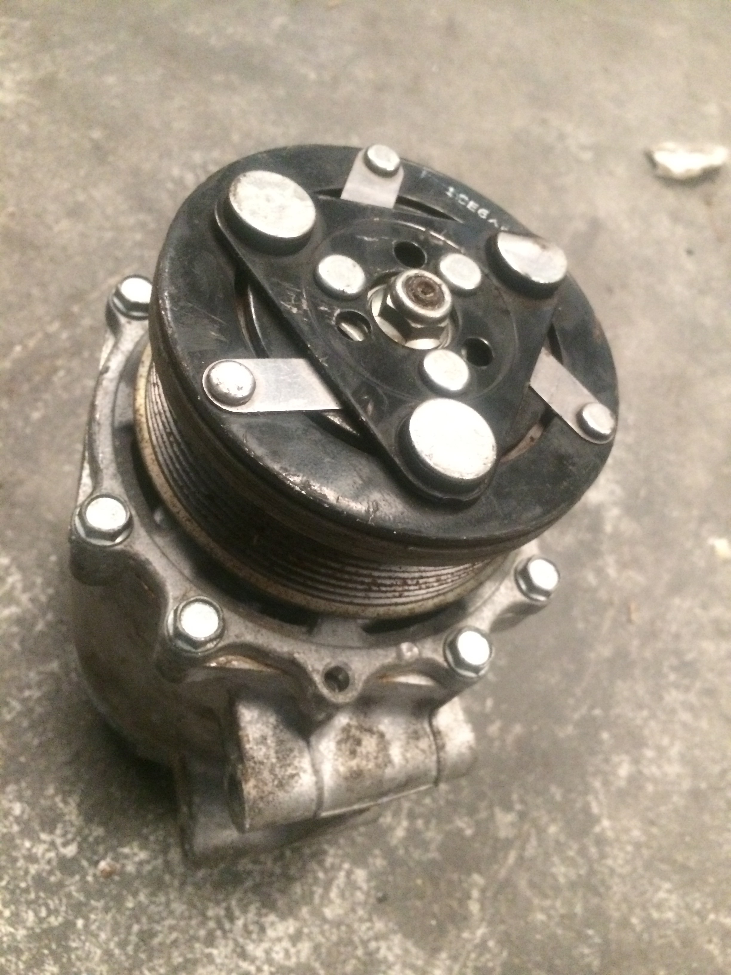 Compressor ar condicionado Honda civic 2007